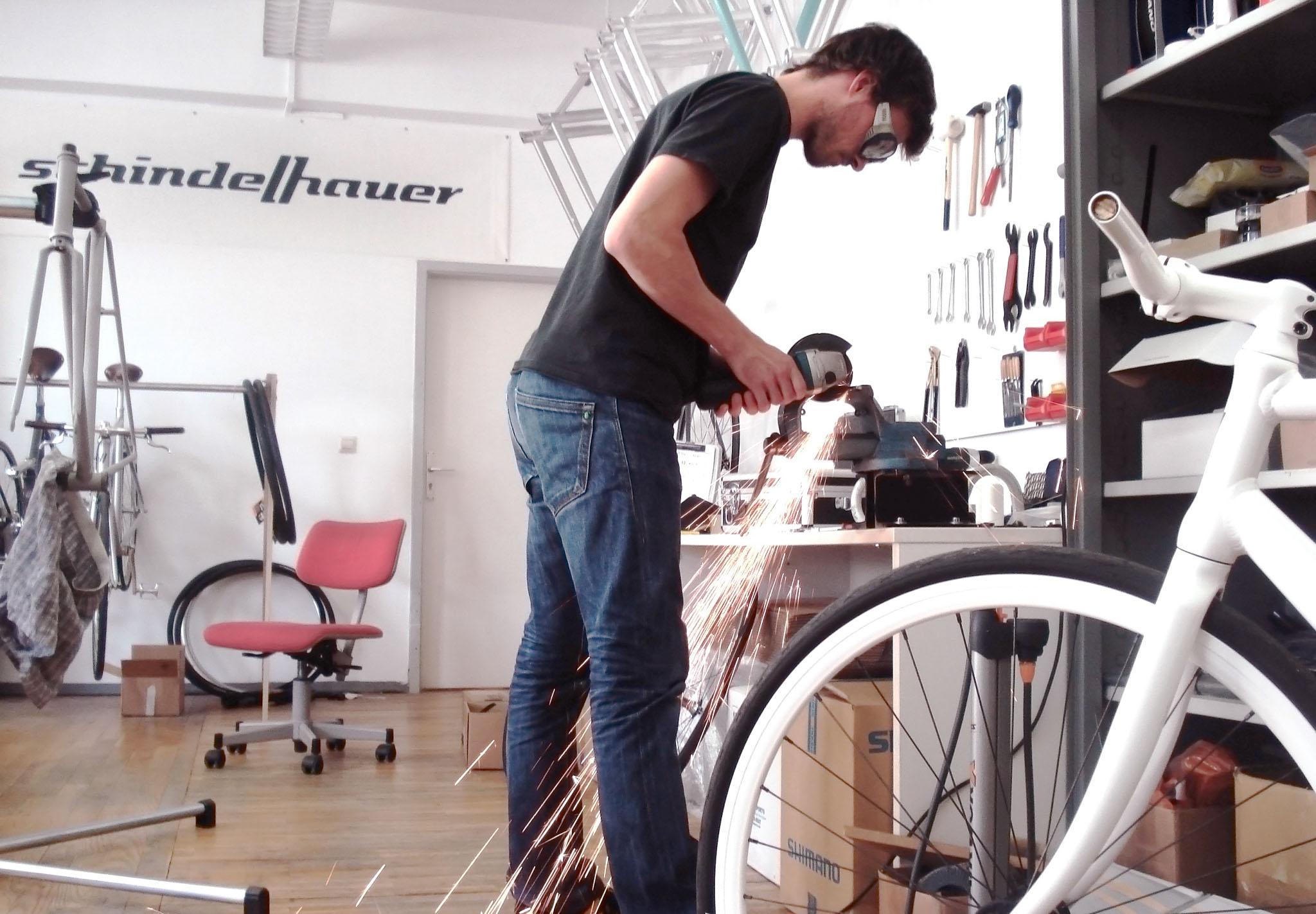 Jörg Schindelhauer 2009 im Magdeburger Büro