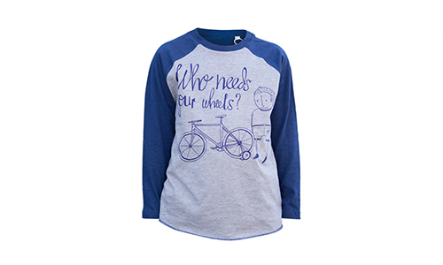 Longsleeve – Who needs 4 wheels?