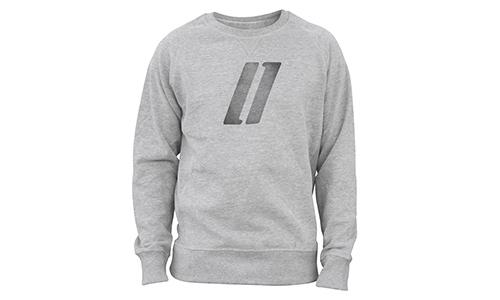 Sweatshirt – Streifenlogo