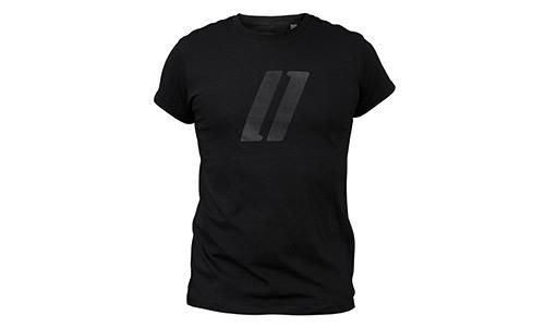 T-Shirt roll-tee – Streifenlogo
