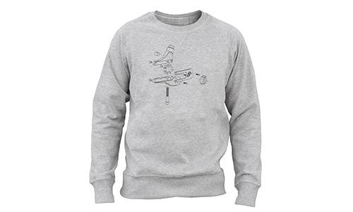 Sweatshirt – Ausfallende