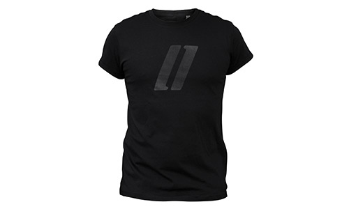 T-Shirt roll-tee – stripes logo