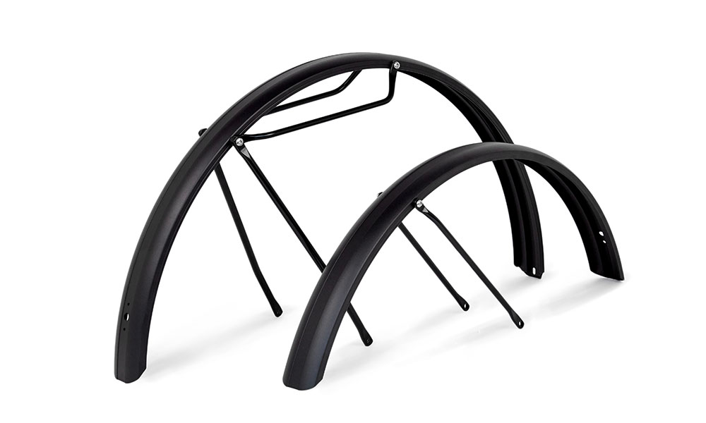 Mudguards with pannier rails